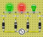 Lamp-flashing circuit.