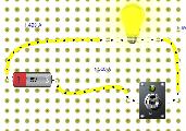 circuit elèctric amb interruptor