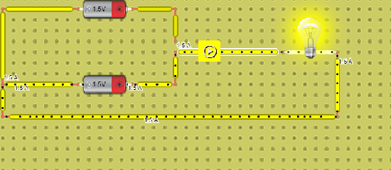 circuito basico conmutado de dos fuentes de alimentacion