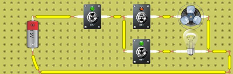 foco ventilador paralelo