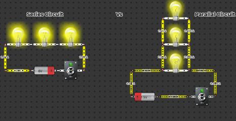 Series Circuit Vs Parallal Circuit