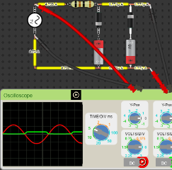 Diode Clipping of Different Bias levels