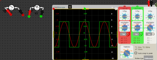 Show Current Flow : Add ground : AC Current Flow with Oscilloscope