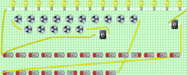 mi primer circuito en paralelo